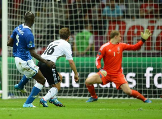 Balotelli goal against Germany