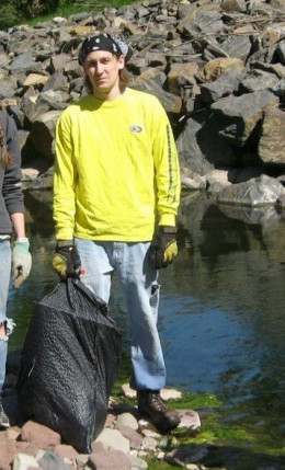 Voluteering for annual clean-ups is one way to make positive connections.