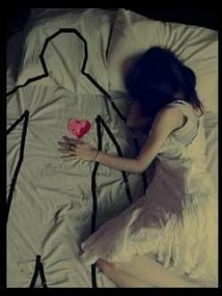 Alone In The Dark - A Sad Poem