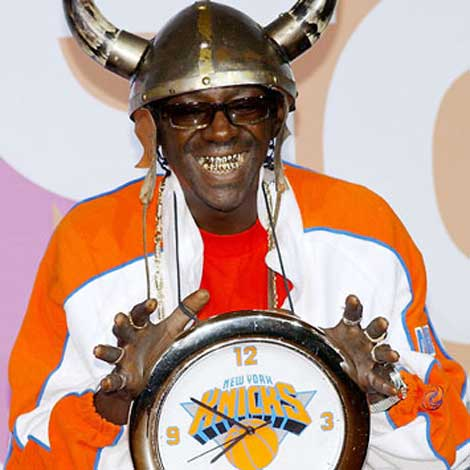 author and icon, Flavor Flav