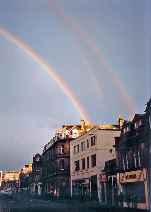 tertiary rainbow