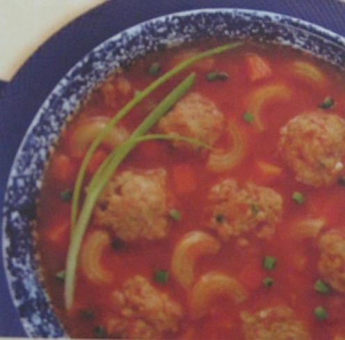 Macaroni and Meatballs