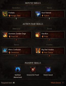 Witch Doctor Dps Build Diablo
