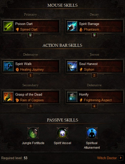 Diablo 3 Witch Doctor Build: Build Without Minions