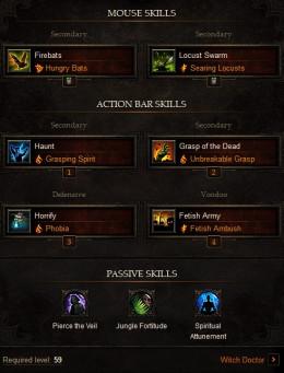 Diablo 3 Witch Doctor Build: Balanced PVP