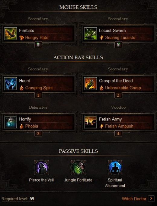 Diablo 3 Witch Doctor Build: Balanced PVP