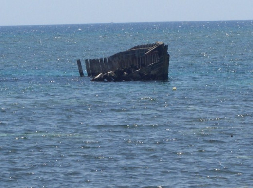 The Shipwreck in Villa Balinmanok