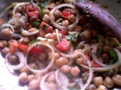 Chickpea Recipe: Garbanzo Beans Stirfry