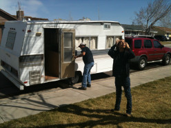 1969 Breeze Travel Trailer Gets a Make Over!