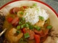 Healthy and Cheap Shrimp Recipes: Shrimp and Sausage Gumbo & Simple Shrimp Scampi