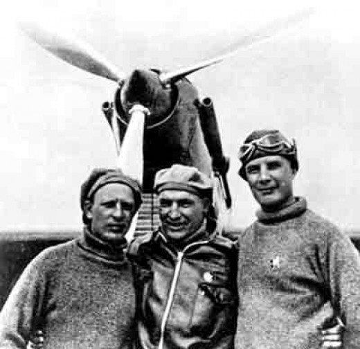 the crew of the non-stop flight