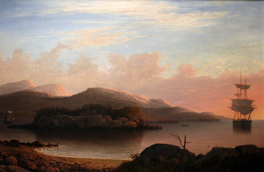 As this 1856 painting by Fitz Hugh Lane suggests, travelers have been coming to the Acadian Coast of Maine for a long time