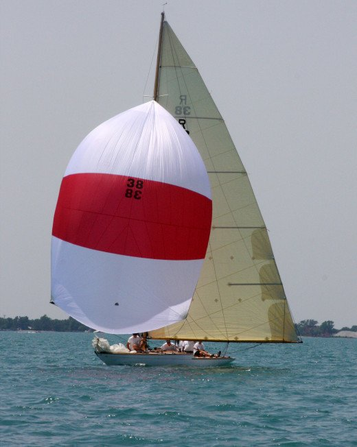 Bernida, R Boat, Lake St Clair, Grosse Pointe Sail Club Regatta June 30, 2012