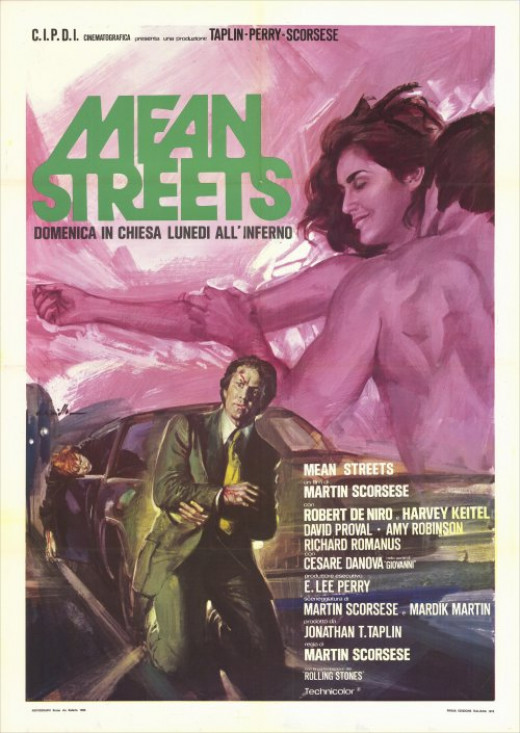 Mean Streets (1973) Italian poster