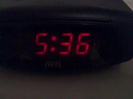 5:36 A.M.