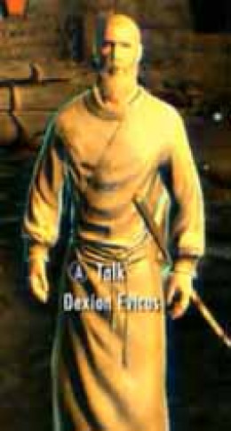 Skyrim the Prophet Quest involves making Dexion Evicus the vampire hero's thrall so that he can decipher Serana's Elder Scroll.