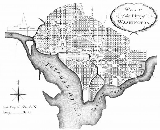 Charles L'Enfant's plan for Washington D.C.