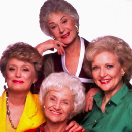 Age Was Their Asset!  The cast of the Golden Girls television show on NBC