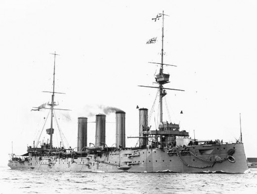 HMS Good Hope, lost with all hands