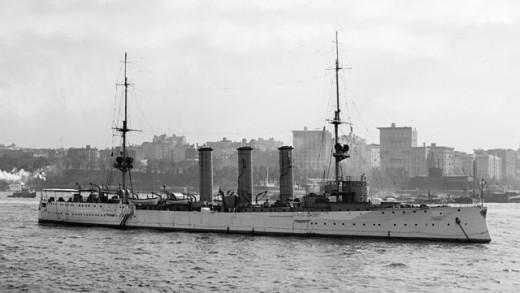 SMS Dresden, before the war