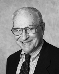 Kenneth Arrow, Nobel Laureate in Economics.