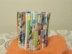 Unique Gift Idea: Turn Magazine Pages into  a Creative Container