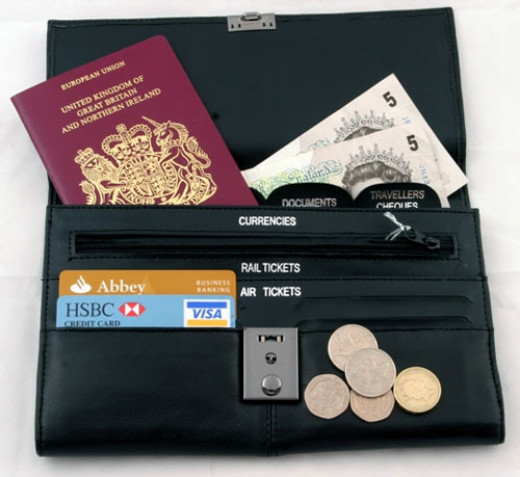 Keep all your documents in an organised way. And always check your wallet or purse before going out and only include the items that are really required.