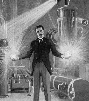 Tesla himself, as seen here, had a fully-charged magnetic personality that was virtually irresistible to others.