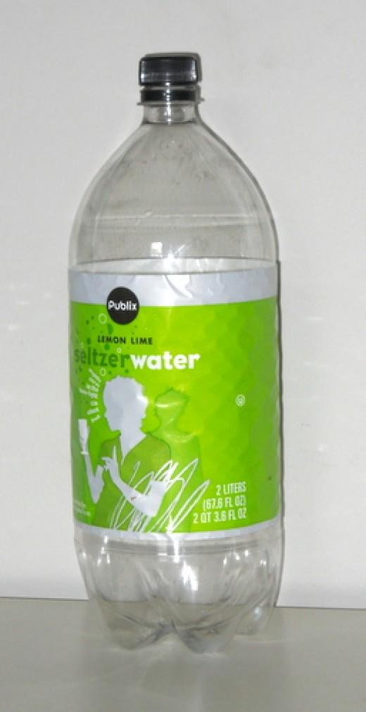 Empty 2 liter