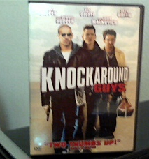 """Shot of the DVD of """"Knockaround Guys"""" that I own."""