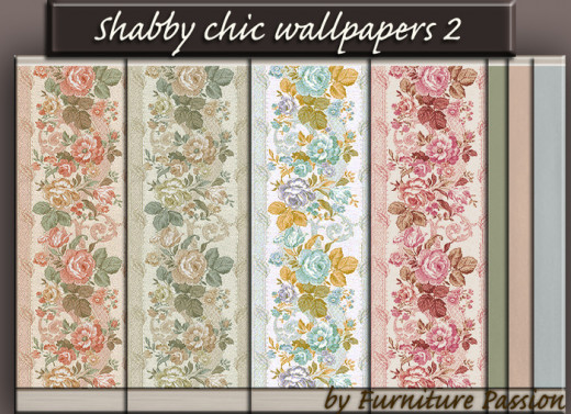 Photo with permission to copy,transfer and modify. Here are some ideas for color combinations when decorating in the shabby chic style.