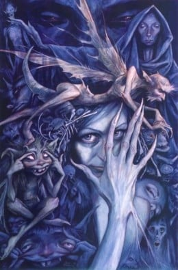 Goblins in Artwork by Brian Froud