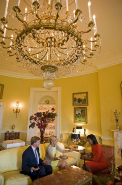 Princess Máxima and Prince Willem-Alexander visiting the White House, Washington DC, 2009