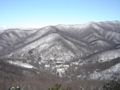 A view of Montreat during the winter.