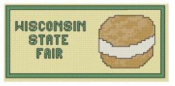 free crosss stitch pattern Wisconsin State Fair