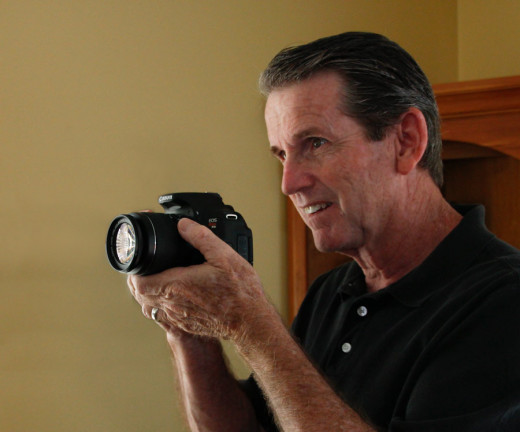 This is me with my new Canon Rebel T4i (650D)