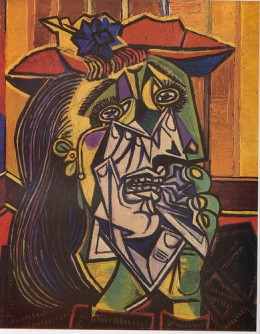 The Weeping Woman-Picasso