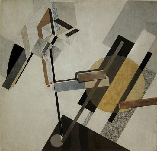 Proun 19D- Lissitzky