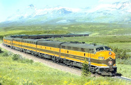 1967 summer edition of the Empire builder. Eastbound in Montana.