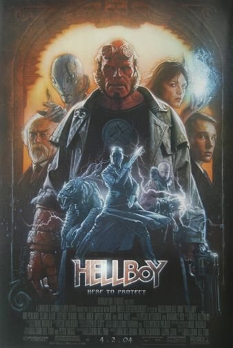 The Hellboy poster that never was.
