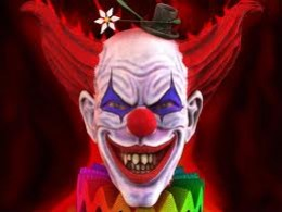 This clown has to be evil.