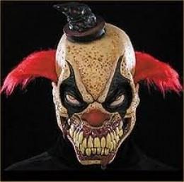 Okay, clowns can really be creepy.
