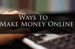 Ways To Profit Online Presently
