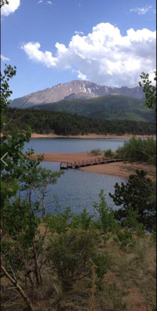 Crystal Creek Reservoir Pikes Peak