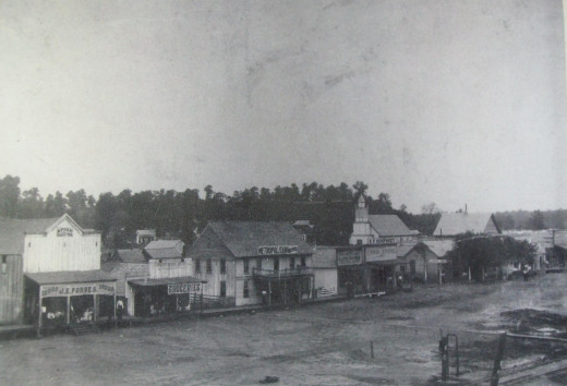 The earliest known photograph of old Poteau Switch