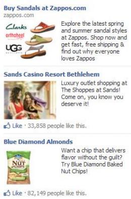 Facebook NewsFeed Ads
