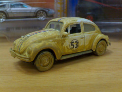 Rusted Herbie Movie Diecast Car
