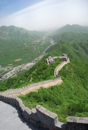 The high point of my travels - the Great Wall