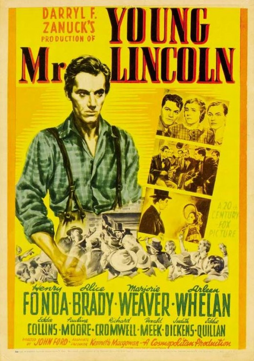 Young Mr. Lincoln (1939) poster