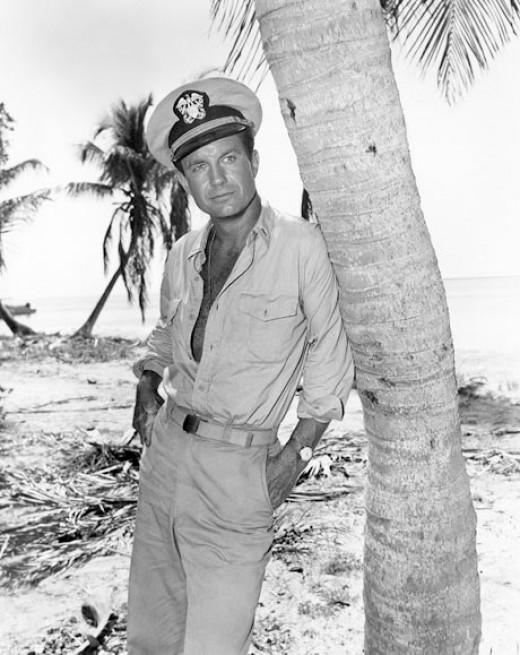 Cliff Robertson as JFK in PT109 (1963)